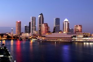 Present day view of Tampa