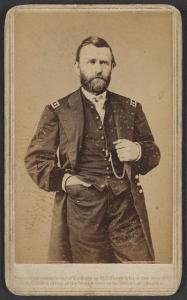 Ulysses S. Grant. This photgraph was taken in 1865, when Grant was a Lieutenant General. Courtesy of the Library of Congress.