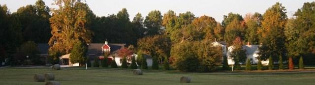 Stevenson Ridge on the Spotsylvania Battlefield.