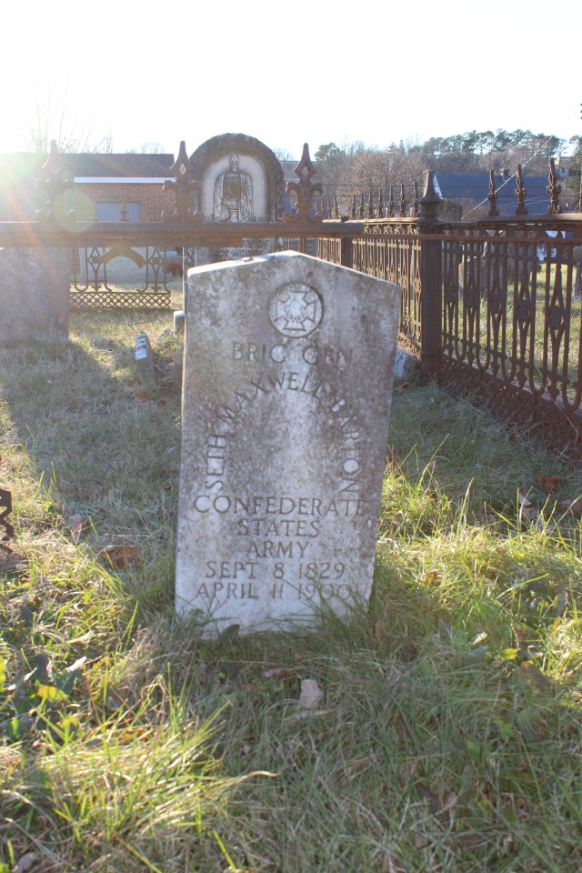 Barton's Grave in Fredericksburg, Virginia