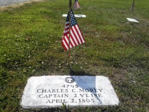 Capt. Charles C. Morey grave