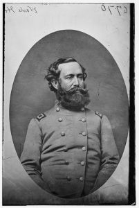 Maj. Gen. Wade Hampton. One Virginia cavalryman thought that he was superior to military affairs to the legendary J.E.B. Stuart. Courtesy of the Library of Congress.
