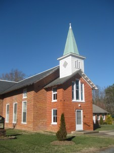 Established in 1829, Salem Church sat at the center of the settlement known as Haw's Shop. As the fighting developed west of the sanctuary, the building became a hospital for wounded Union and Confederate troopers. After the fighting, Brig. Gen. George Custer established his headquarters here.