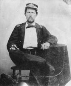 Charles Flusser (1832-1864) (US Naval Heritage Center)