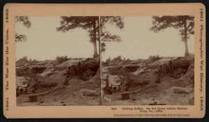 Making coffee on the lines before Petersburg, 1864. Courtesy of the Library of Congress.