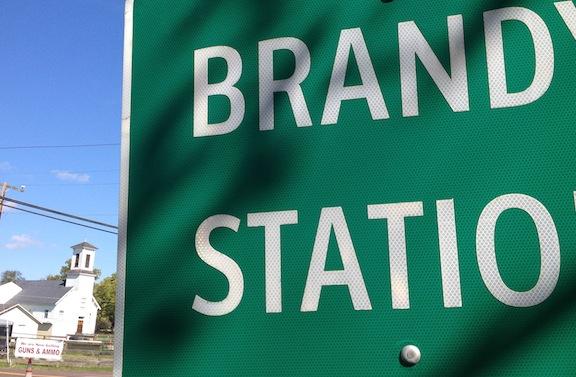 BrandyStationSign