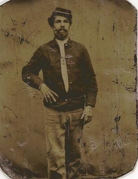 Frank Krug of the 53rd PA infantry, killed at Spotsylvania, May 12, 1864