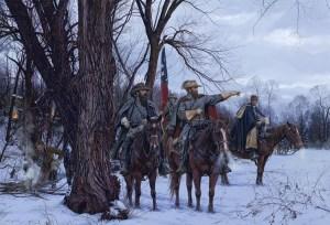 Stuart's Christmas Raid, by John Paul Strain