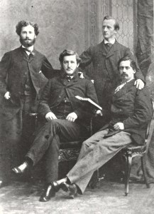 Officers from the CSS Shenandoah