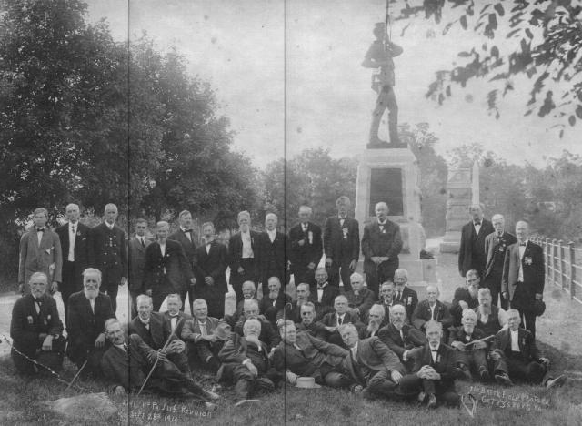Reunion of the 11th Pennsylvania Infantry at Gettysburg