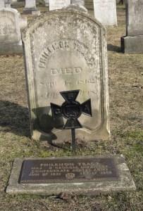 Grave of Maj. Philemon Tracy