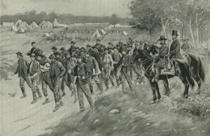 Lincoln and Grant Inspecting Prisoners