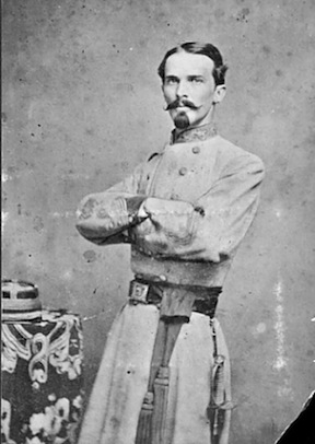 Randal Gibson, the commanding Confederate General in Spanish Fort