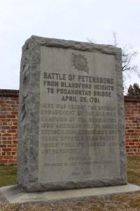 Battle Monument Marker