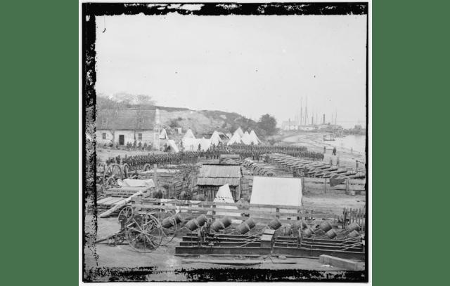 Yorktown Waterfront, 1862 (LoC)