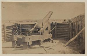 Artillery at Petersburg's Fort Hell