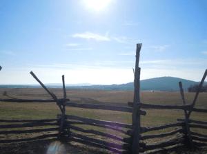 A view of Cedar Mountain
