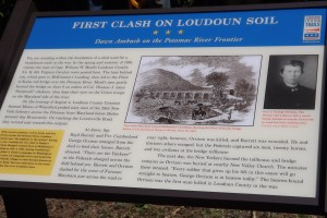 Civil War Trails Marker at McKimmey's Landing