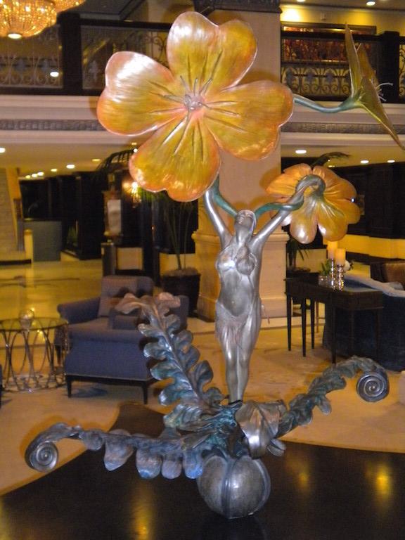 Art in the lobby