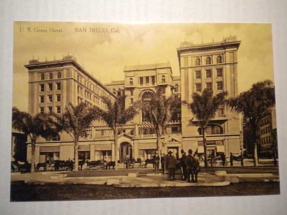The U.S. Grant Hotel, shortly after it opened