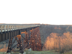 The Kinzua Viaduct today.