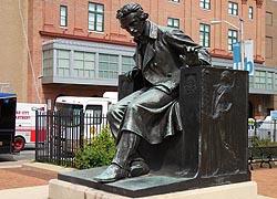 Poe Statue Baltimore