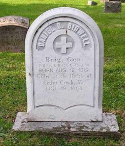 Bidwell's grave