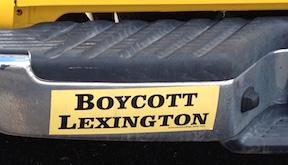 Boycott Lexington