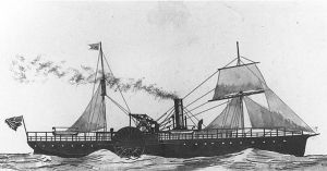 United States mail steamer Bienville
