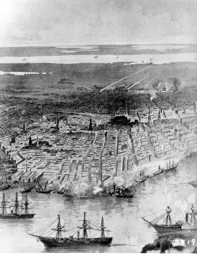Union Navy at New Orleans