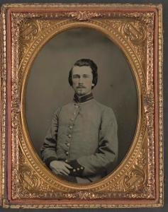 Lieutenant Colonel Warren Adams of Co. H, 1st South Carolina Infantry Regiment (Library of Congress)