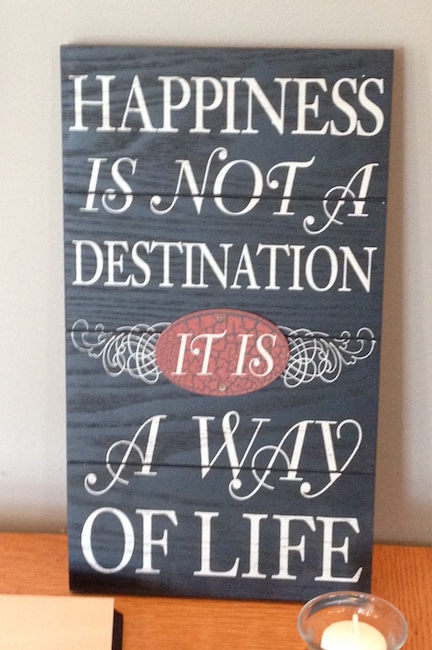 Happiness Sign