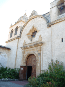 Mission San Carlos was one of the earliest California Missions