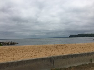 Aquia Landing today. The area is a county park today with a beach and picnic area.