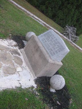 Confederate Monument New Hope Church