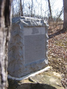 Col. Charles Taylor Monument at Gettysburg.