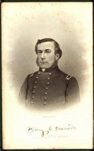 Lieutenant Colonel Henry Merwin. Photo courtesy of John Banks Civil War Blog.