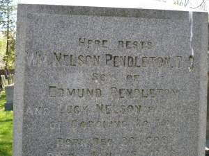 William Nelson Pendleton Grave