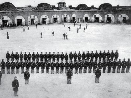 Fort Pulaski Ballgame