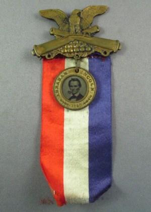 Abraham Lincoln Ribbon, 1860 style