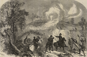Stannard's attack at Chapin's Farm