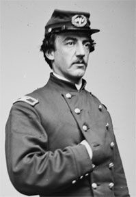 Col. H.A.V. Post, the first commander of the 2nd United States Sharp Shooters, led the regiment for the duration of the winter of 1861-62. (Library of Congress)