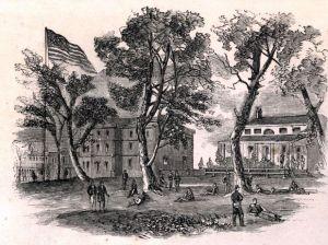 St. Louis Arsenal. Courtesy of the Missouri Historical Society.