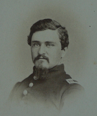 Captain James Henry Platt, Jr., courtesy of the John Gibson Collection, Vermont in the Civil War