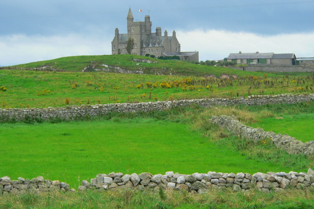 Classiebawn_Castle_-_geograph.org.uk_-_1152490 by Joseph Mischyshyn