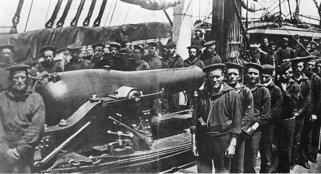 Sailors USS Wissahickon
