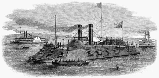 Union river ironclad