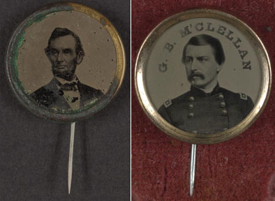 Campaign Buttons 1864