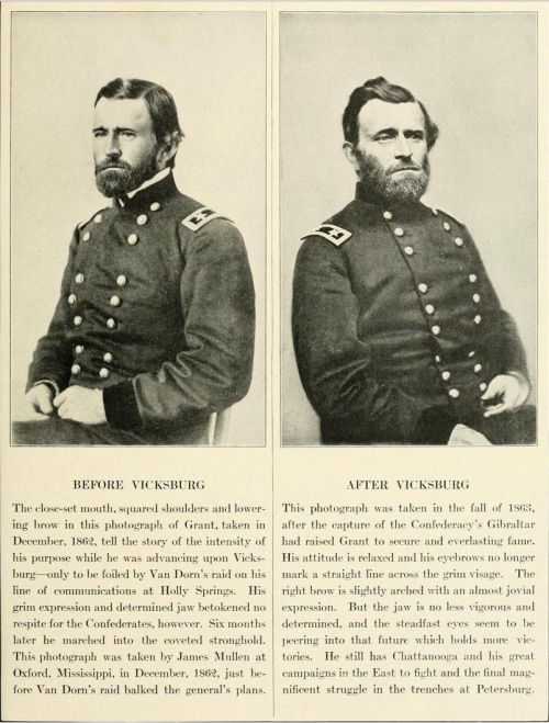 Grant Before and After Vicksburg