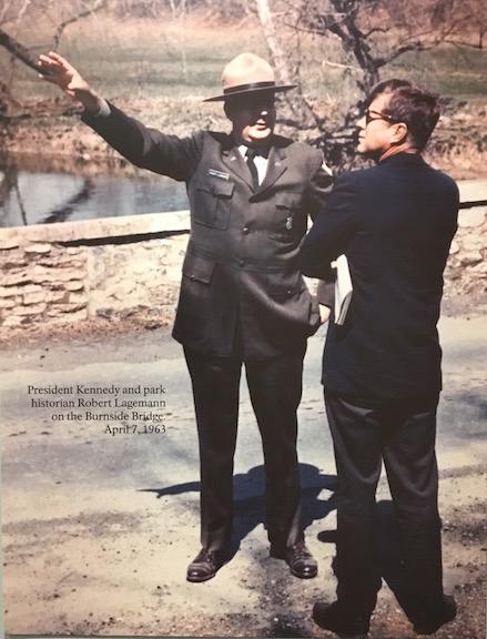 JFK at Antietam